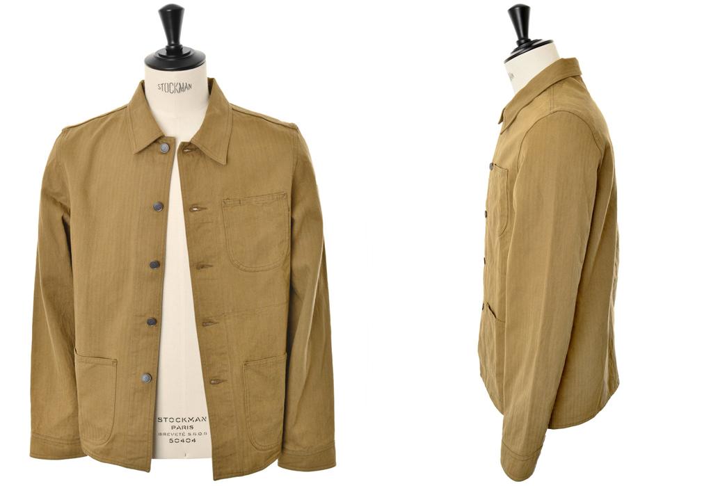 knickerbocker-mfg-co-service-chore-coat-brown-herringbone-twill-front-side