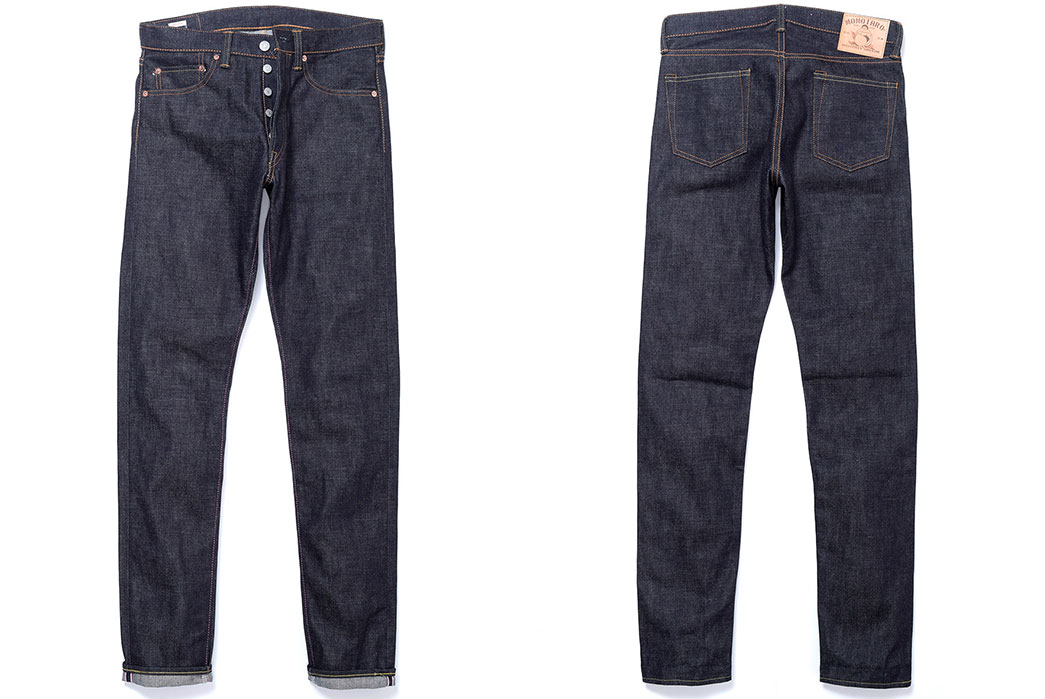 momotaro-0405-15-7-oz-zimbabwe-cotton-high-tapered-jeans-front-and-back