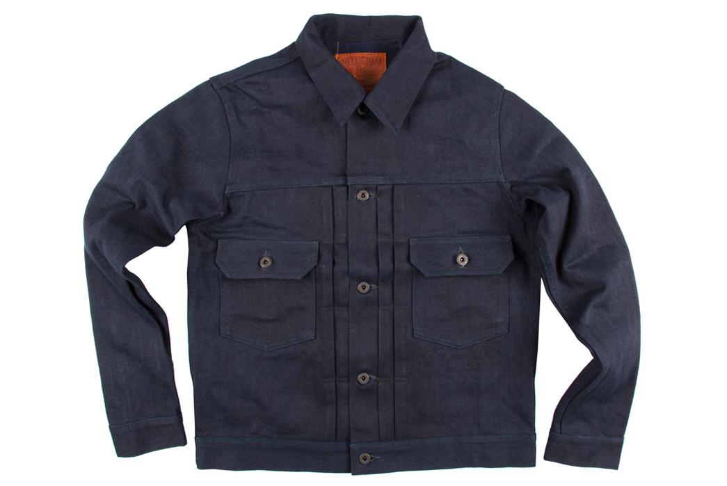 oni-02517-id17-17oz-unsanforized-indigo-x-indigo-selvedge-denim-type-2-jacket-front