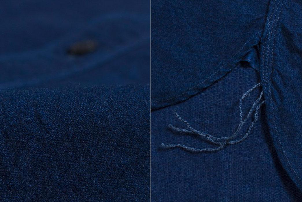 spellbound-origami-natural-indigo-yarn-dyed-selvedge-flannel-shirt-fabric-gusset-runoff