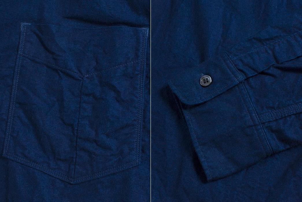 spellbound-origami-natural-indigo-yarn-dyed-selvedge-flannel-shirt-pocket-arm-hem