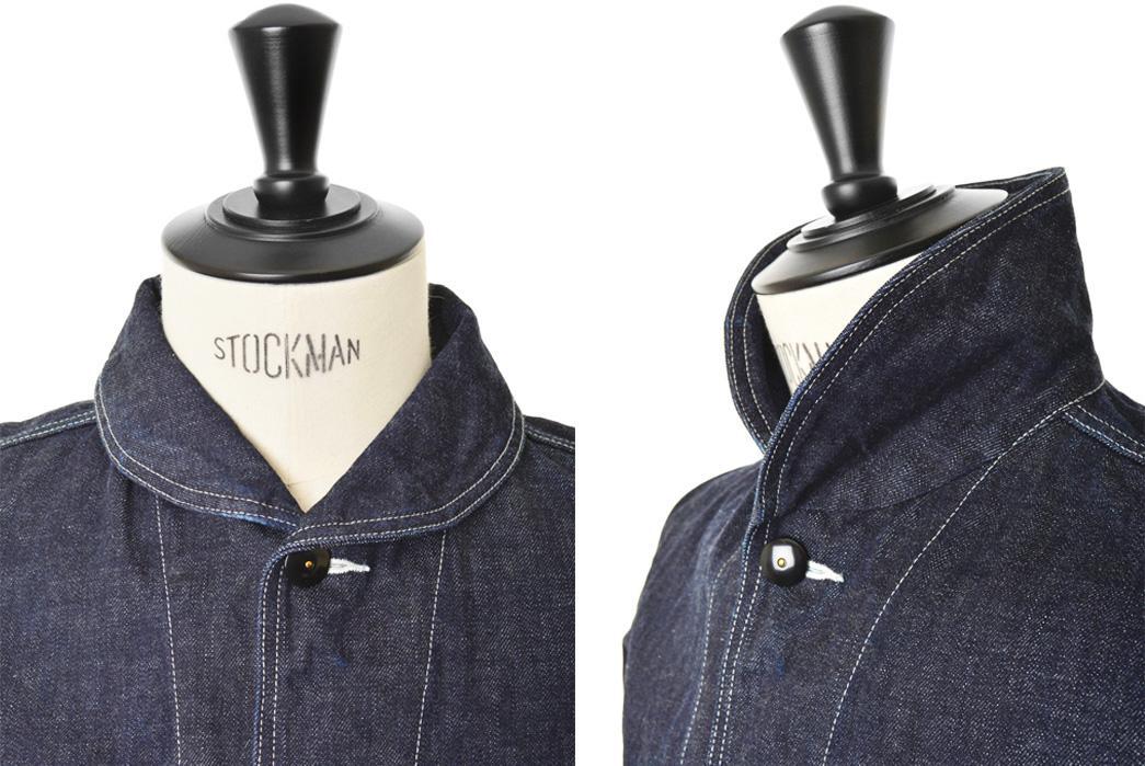 the-superior-labor-denim-jacket-bl004-front-side-detail