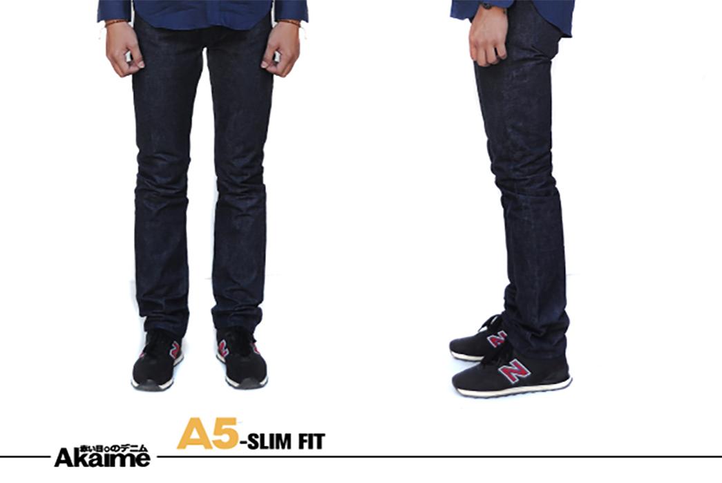 akaime-a5-raw-denim-jeans