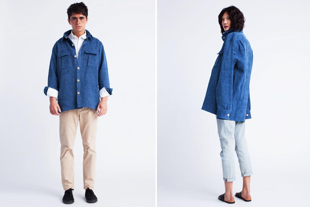blluemade-indigo-dyed-15-3oz-belgian-linen-jacket-guy-and-girl