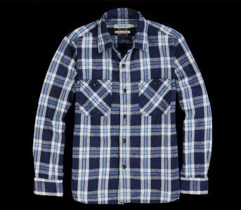 fav-omnigod-indigo-dyed-original-flannel-selvedge-work-shirt-front
