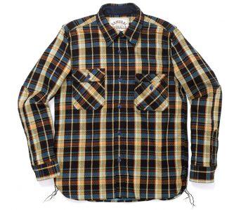 fav-samurai-jeans-indigo-rope-dyed-heavy-flannel-work-shirt-front