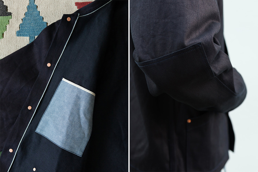 grease-point-workwear-orchard-coat-in-double-indigo-14-5oz-candiani-mills-selvedge-denim-inside-and-elbow