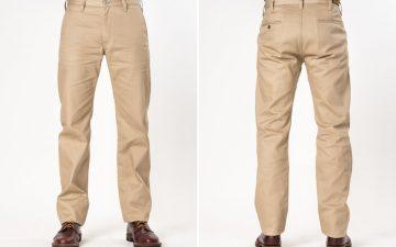 iron-heart-ih-717-khaki-9oz-selvedge-mercerised-cotton-chinos-front-back