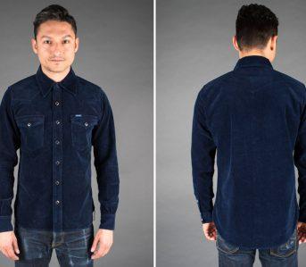 iron-heart-indigo-corduroy-western-shirt-front-back