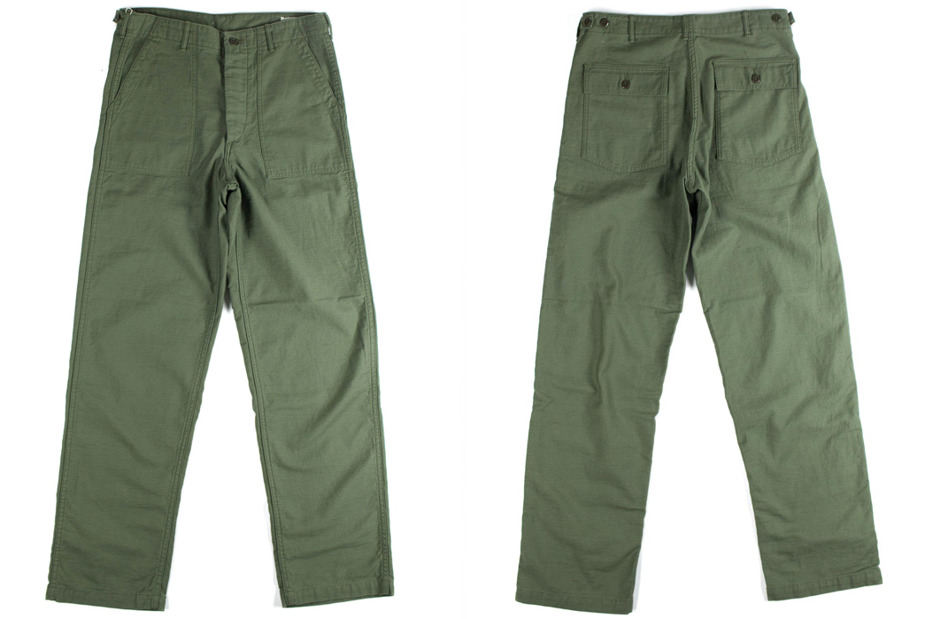 OrSlow: Army Fatigue in Olive