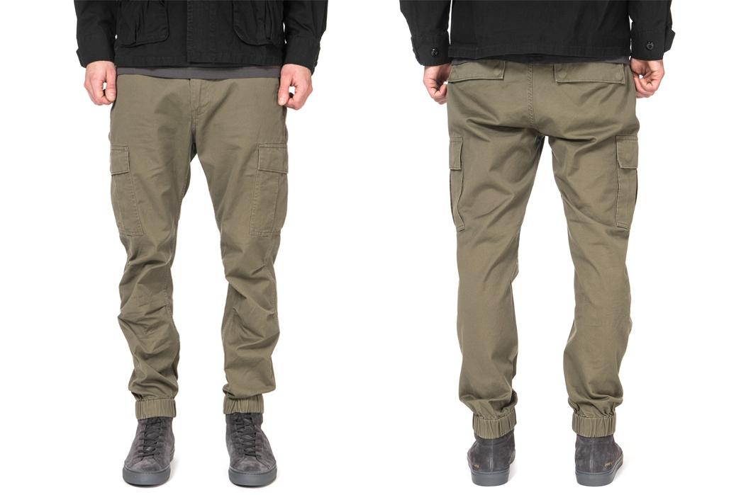 Deluxe: Brigade Pants in Olive