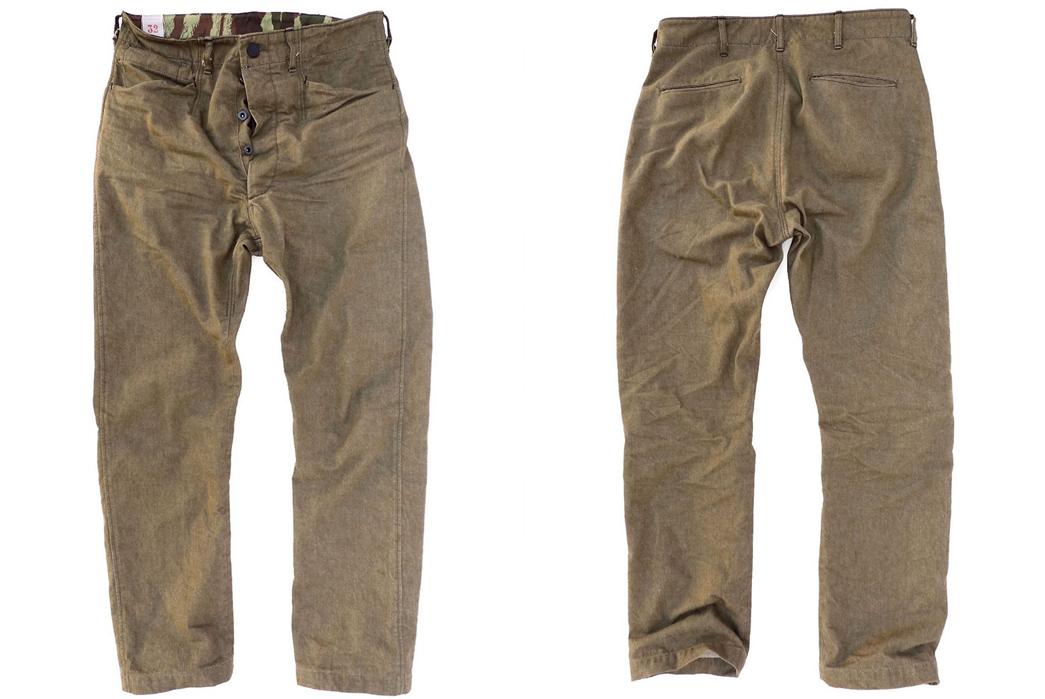 Mister Freedom: Garrison Pants in Olive