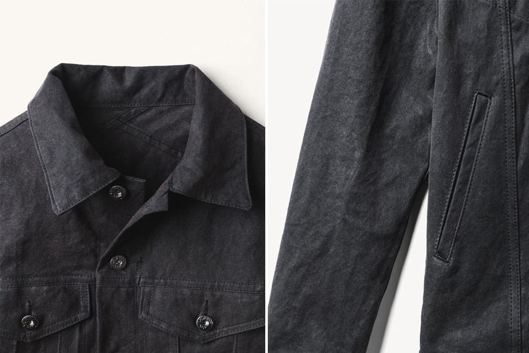 the-woodlands-x-3sixteen-type-iii-waxed-trucker-jacket-hand