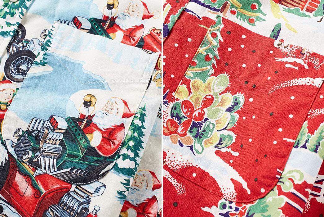 end-x-gitman-vintage-christmas-shirts-front-pocket-detailed