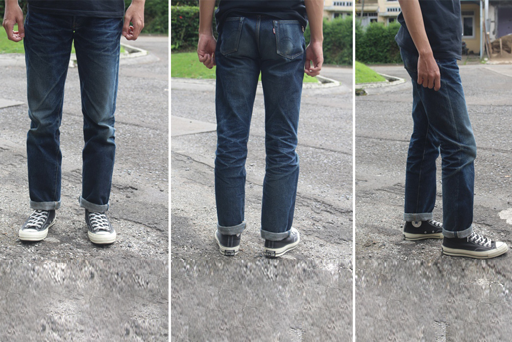 fade-of-the-day-samurai-jeans-s710xx-11-months-1-wash-1-soak-front-back-side