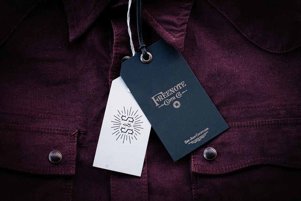 Freenote Cloth x Standard & Strange Corduroy Modern Western Shirt