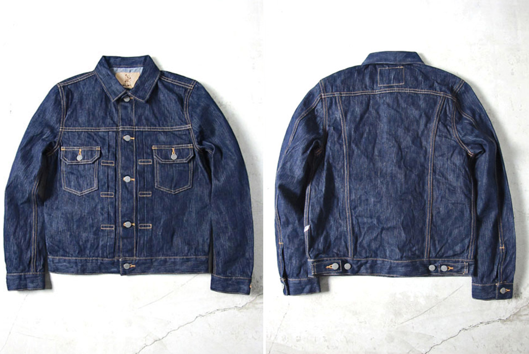 pure-blue-japan-introduces-their-type-ii-jacket-in-four-fabrics-natural-indigo-front-back
