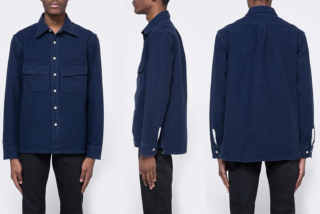 the-hill-side-indigo-sashiko-coupe-shirt-front-side-back