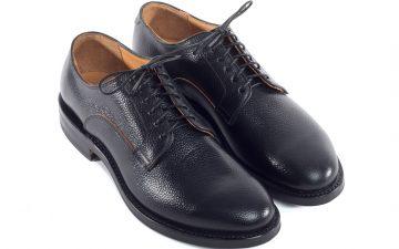 viberg-scotch-grain-shell-cordovan-derby-shoe-front-angle