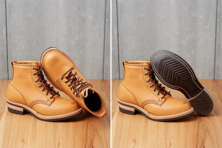 wesco-natural-veg-tan-packrider-boots-both-up-and-down