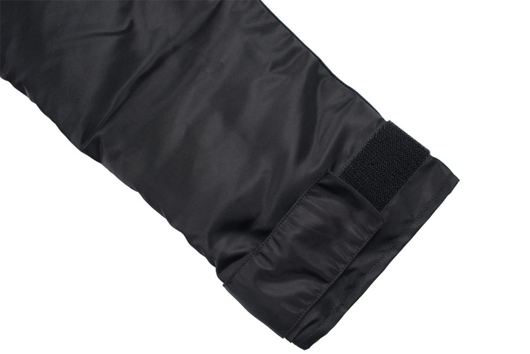 buzz-rickson-x-william-gibson-down-jacket-sleeve