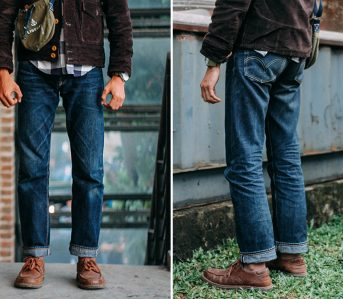 fade-of-the-day-rootdiggers-mto-orange-selvedge-6-washes-2-washes-1-soak-model-front-back