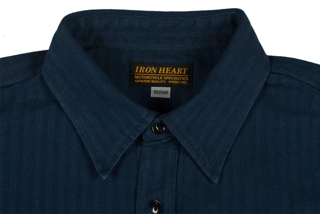 iron-heart-indigo-heavy-herringbone-workshirt-front-collar
