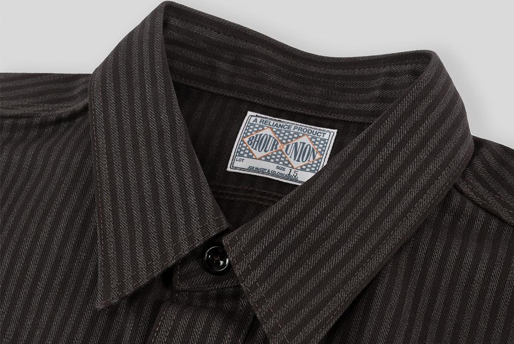joe-mccoy-8-hour-union-hickory-stripe-gray-black-work-shirt-collar