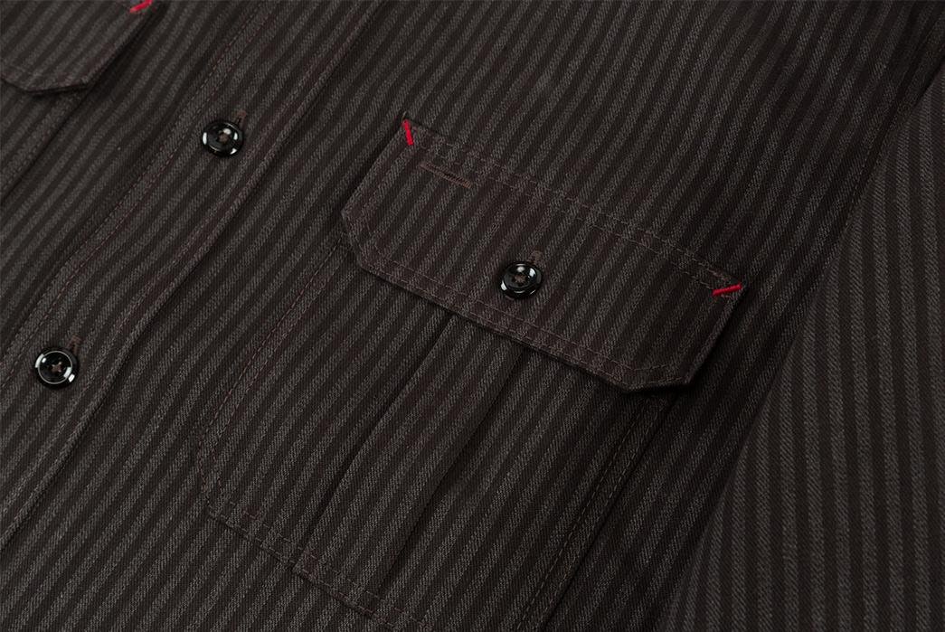 joe-mccoy-8-hour-union-hickory-stripe-gray-black-work-shirt-front-pocket-2