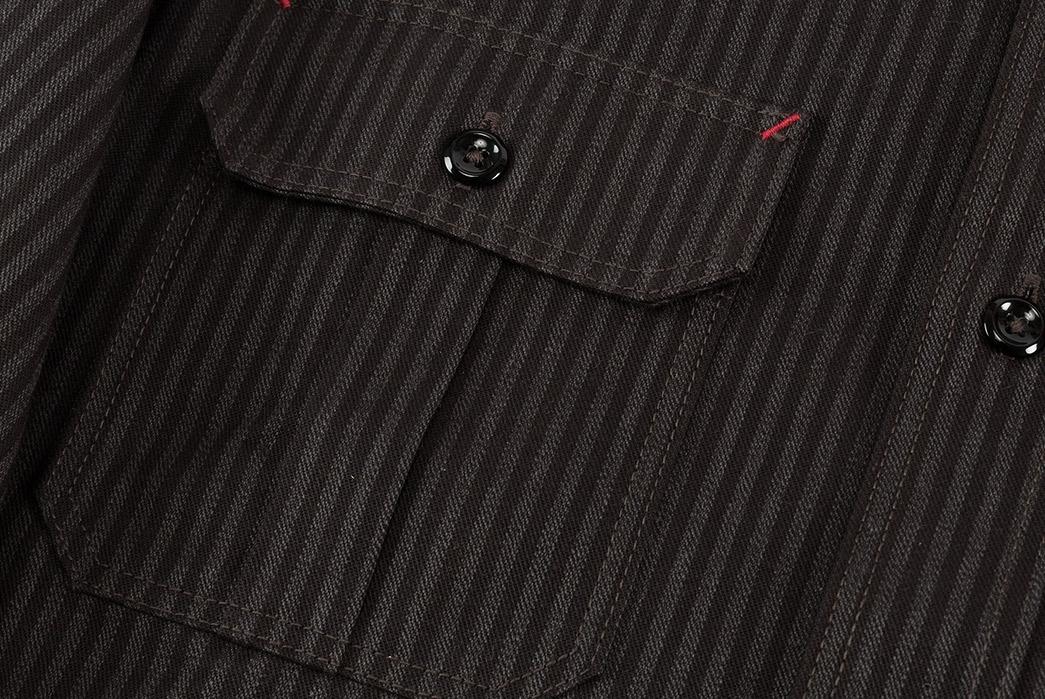joe-mccoy-8-hour-union-hickory-stripe-gray-black-work-shirt-front-pocket