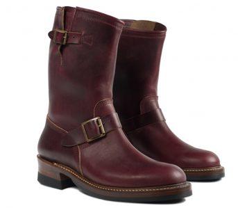 john-lofgren-burgundy-chromexcel-engineer-boots-front-side