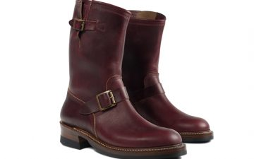 john-lofgren-burgundy-chromexcel-engineer-boots-front-side