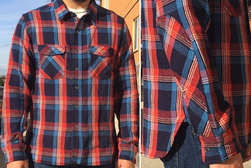 left-field-12oz-japanese-twill-tartan-plaid-shirts-blue