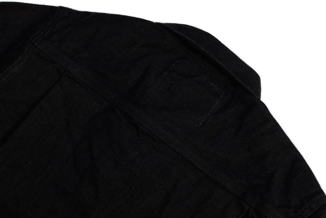 momotaro-b2105sp-15-7oz-ocean-rinsed-black-x-black-type-ii-denim-jacket-back-angle