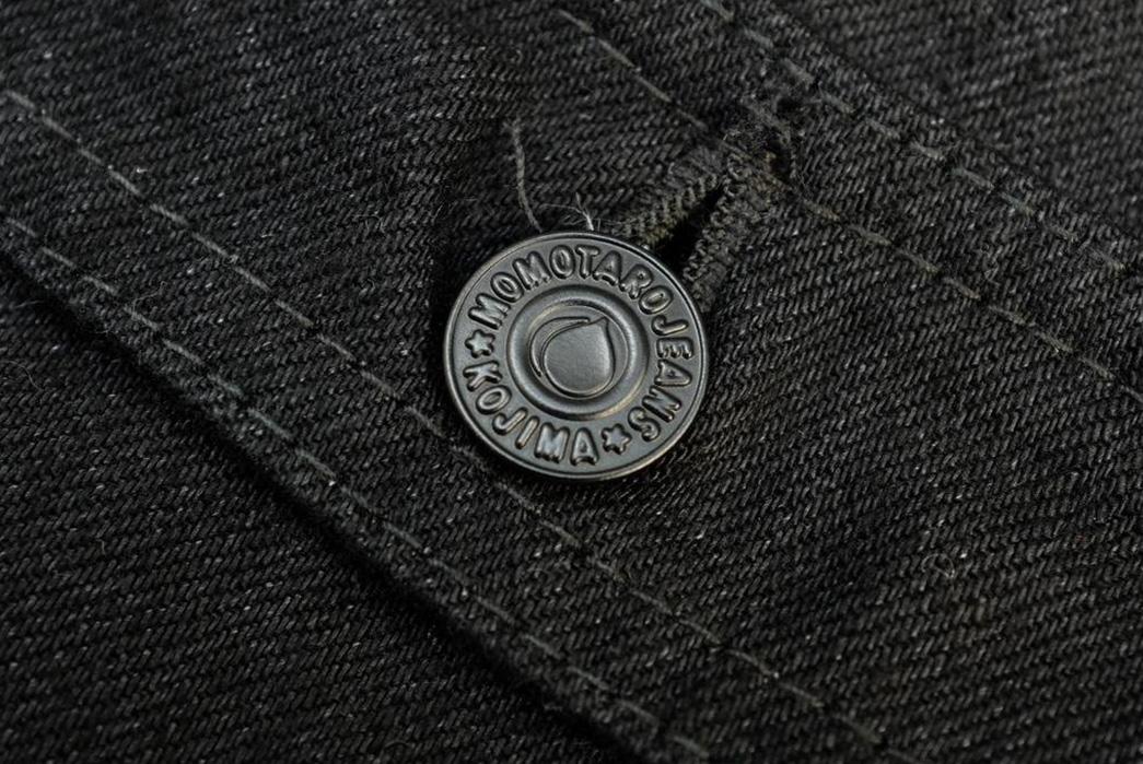 momotaro-b2105sp-15-7oz-ocean-rinsed-black-x-black-type-ii-denim-jacket-button