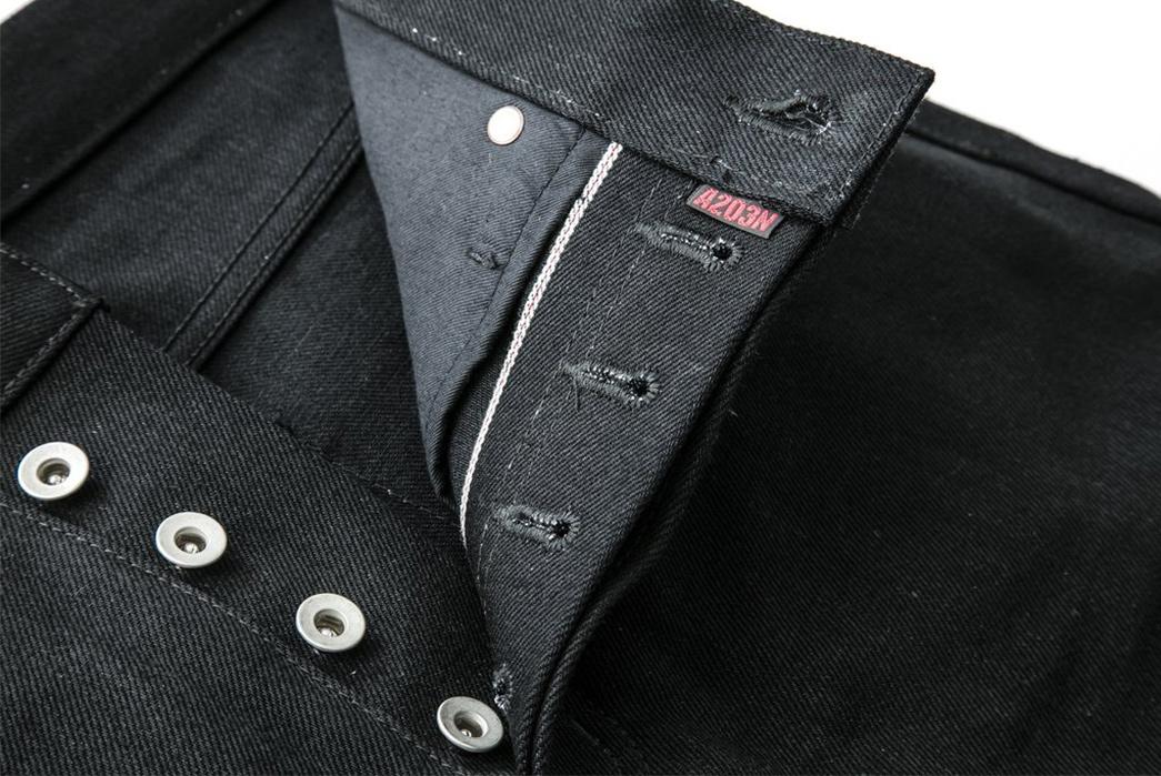 nine-lives-13-5oz-slim-tapered-jeans-black-front-top-open