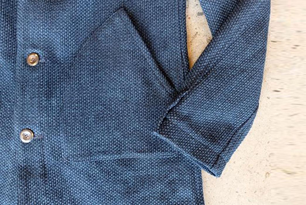 nine-lives-indigo-sashiko-duster-coat-front-sleeve