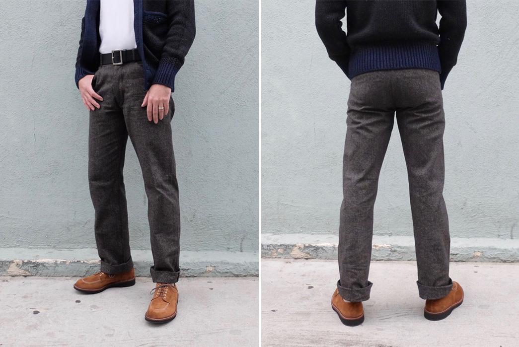 stevenson-overall-selvedge-twill-docker-pant-model-front-back