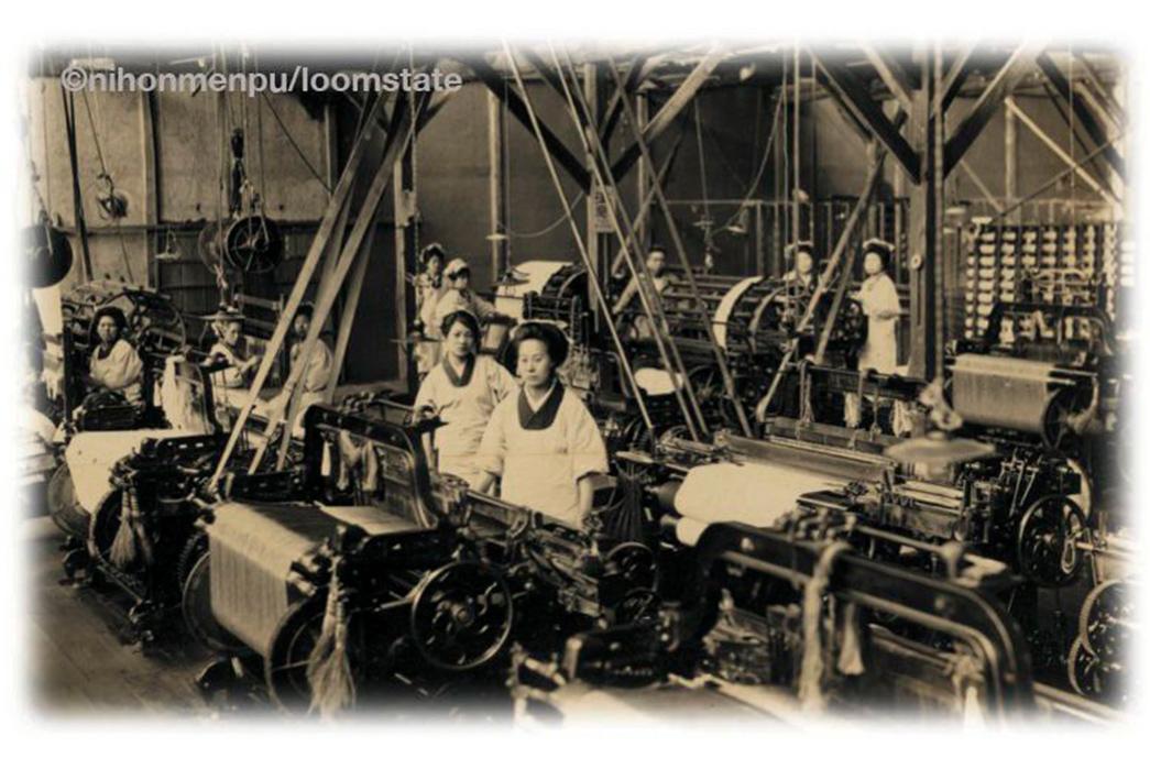 the-weekly-rundown-toyoda-looms-at-nihon-menpu-circa-1920s