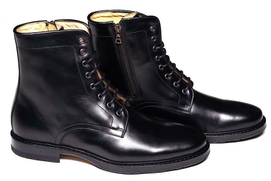 1-side-zip-boots-five-plus-one-epaulet-combat-boot-in-couro-cromo-steerhide-black-pair