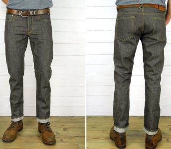 companion-joel-011ka-14oz-brown-selvedge-japanese-denim-jeans-model-front-back