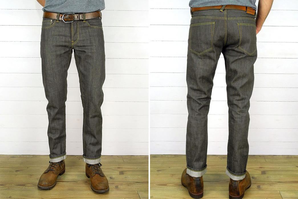 companion-joel-011ka-14oz-brown-selvedge-japanese-denim-jeans-model-front-back