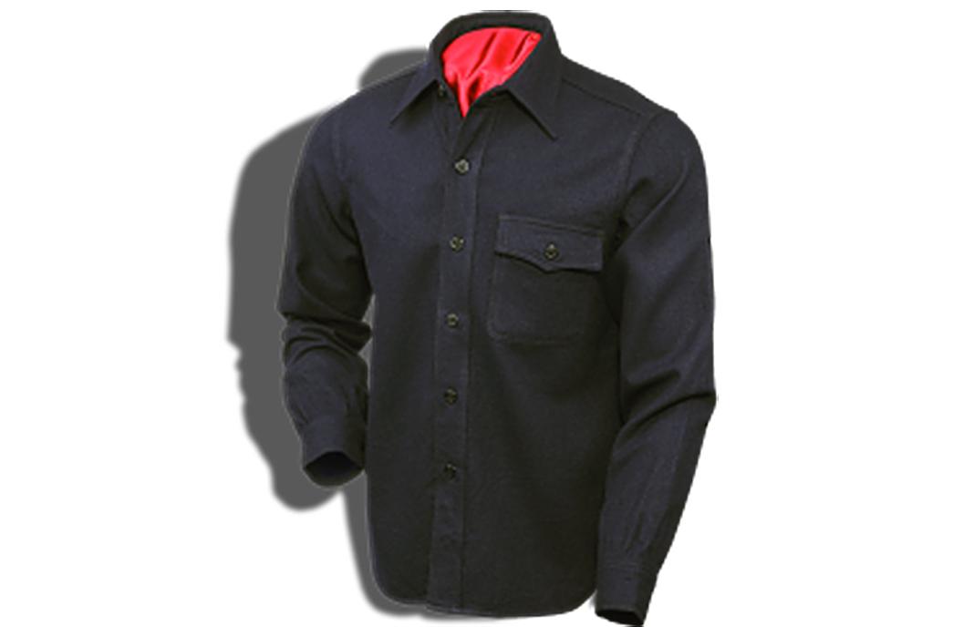 CPO-Shirt-Jackets---Five-Plus-One-4)-Buzz-Rickson-CPO-Shirt-in-Navy