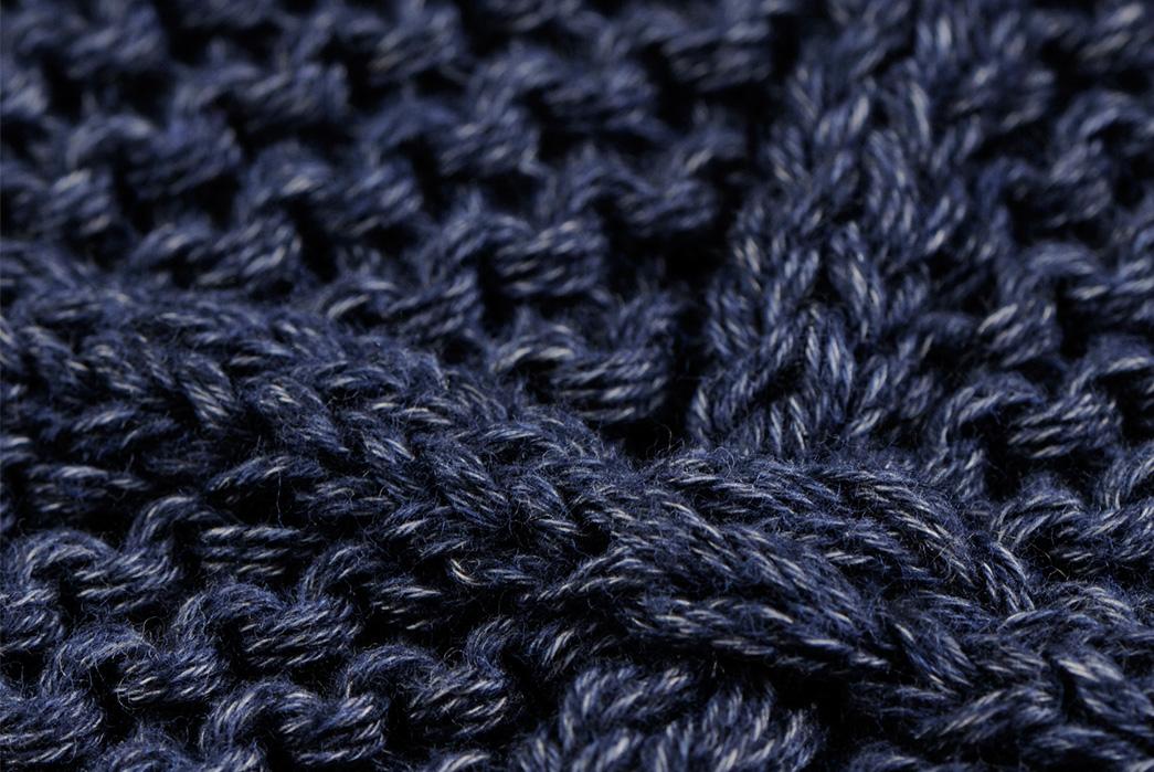 eidos-dark-indigo-sashiko-wrap-cardigan-detailed
