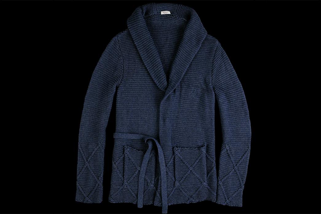 eidos-dark-indigo-sashiko-wrap-cardigan-front