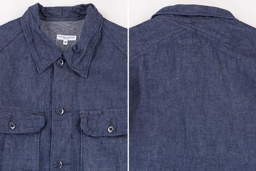 engineered-garments-8oz-cone-denim-field-shirt-front-back-detailed