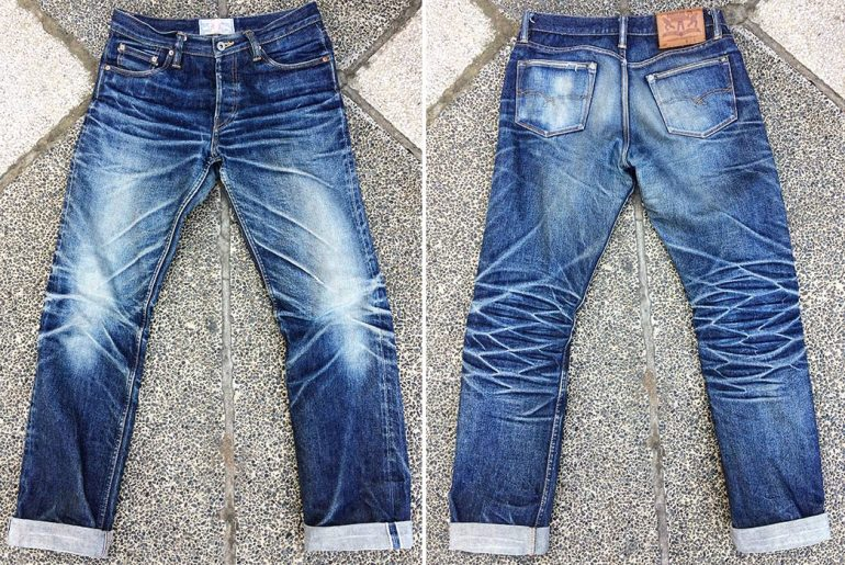 Fade-Friday---Oldblue-Co.-8.25-cut-19-oz.-(13-Months,-2-Washes,-2-Soaks)-front-back</a>