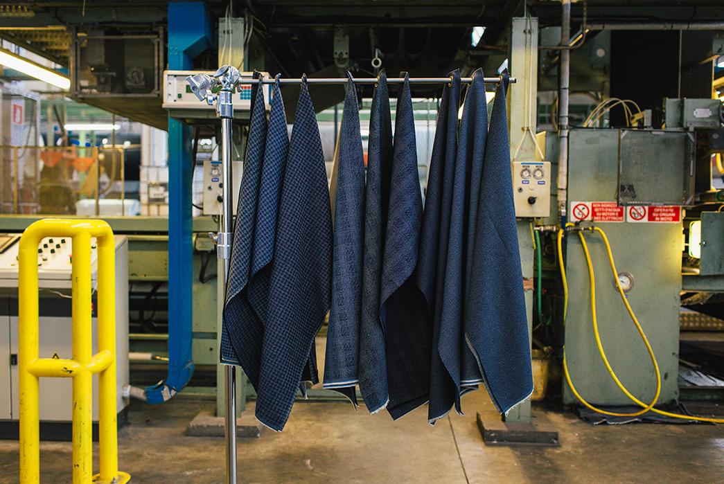 italian-denim-mill-berto-showcases-their-spring-18-offerings-hanged-blue-textiles