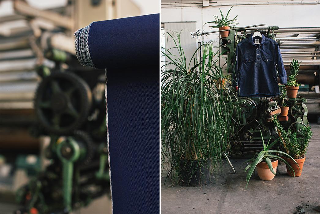 italian-denim-mill-berto-showcases-their-spring-18-offerings-machine-blue-panel-blue-shirt-plants