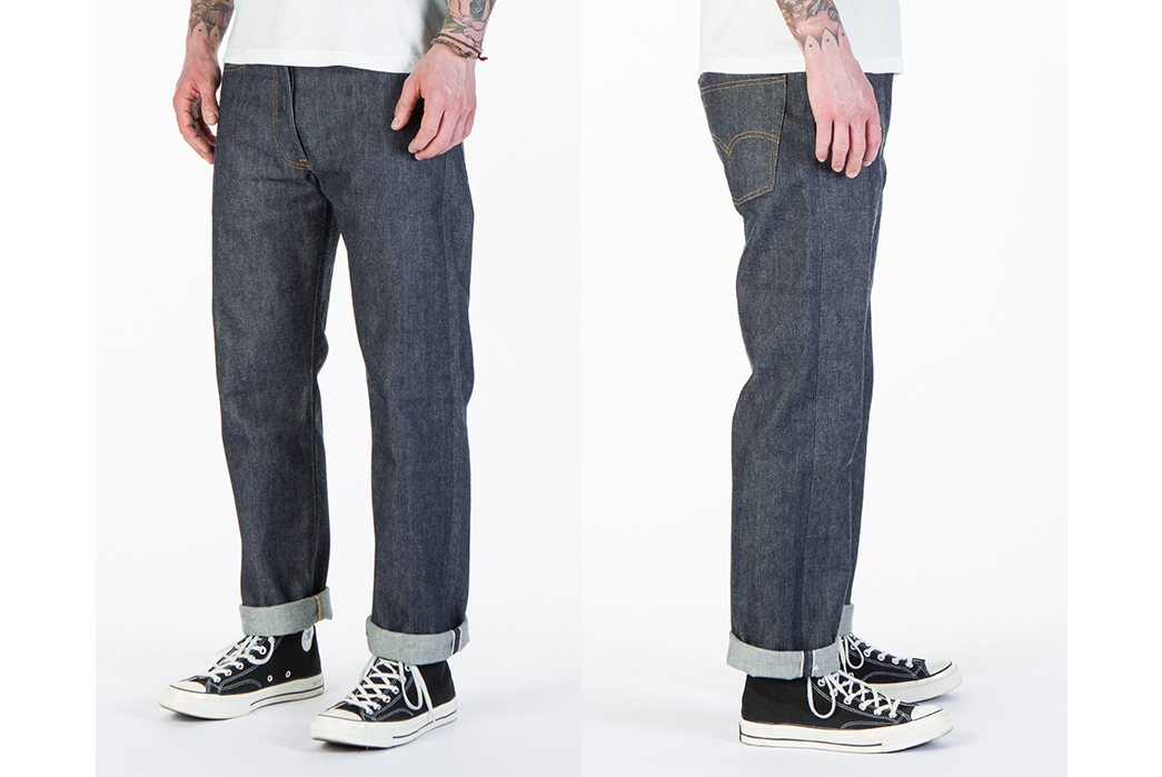 Levi's Vintage Clothing Have Got Their 1976 Mirror Jeans All Backward